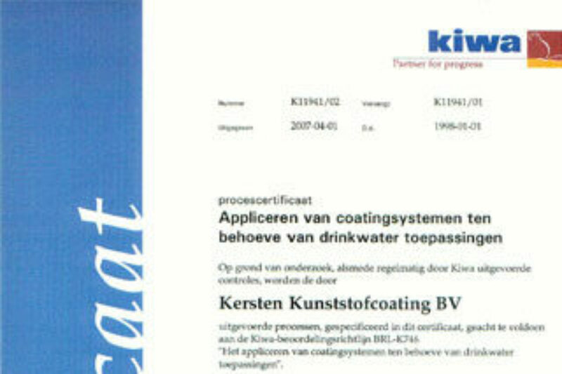 Gecertificeerde coatings